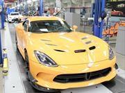Dodge produce la última unidad del Viper