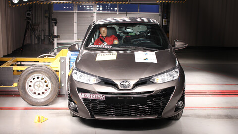 Toyota Yaris se somete a las pruebas de seguridad de Latin NCAP