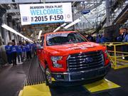 Inicia la producción del Ford F-150 2015
