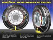 Goodyear y el desafío de nunca más echar aire a los neumáticos