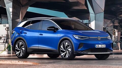 Volkswagen ID.4: 200 hp y 540 kilómetros de autonomía para el SUV