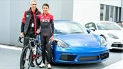 Egan Bernal, nuevo embajador de Porsche en Colombia