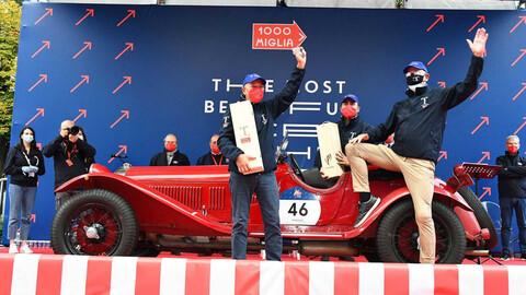 Alfa Romeo sigue de festejo: ganó la Mille Miglia