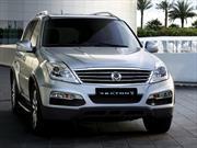 SsangYong  presentó la Rexton W Luxury Edition