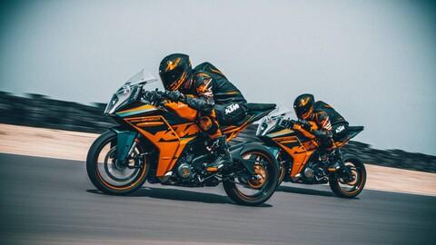 KTM RC 390 y RC 125 2022, con toda la adenalina y el sabor del MotoGP