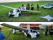 Se accidenta el AeroMobil y casi le cuesta la vida a su creador