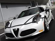 """Alfa Romeo 4C  hace tiempo récord en el  """"Green Hell"""" de Nürburgring"""