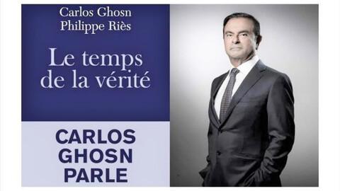 Carlos Ghosn lanza libro con su postura sobre el escándalo con Renault, Nissan y Mitsubishi