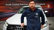 Audi y sus regalos de mitad de temporada para el FC Barcelona