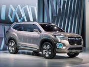 Subaru Viziv-7 SUV Concept, agresiva propuesta familiar de 7 plazas