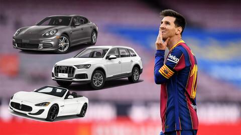 Messi se vá del Barcelona ¿Y sus autos?