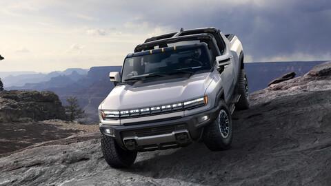GMC Hummer EV 2022, renace  el poderoso convertido en pick up eléctrica