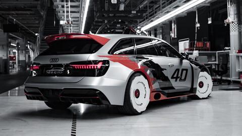 Audi RS6 GTO, un increíble y brutal tributo a las glorias de IMSA