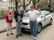 Kia Niro logra Récord Guinness por su bajo consumo