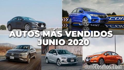 Los 10 autos más vendidos en junio 2020