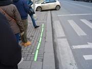 Para distraídos: Buenos Aires tendrá semáforos en el piso