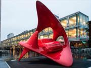 Land Rover Discovery Sport convertido en escultura