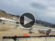 Video: Pilotos de la MotoAmerica Superbike mueren en escalofriante accidente
