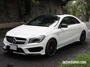Prueba Mercedes-Benz CLA 45 AMG