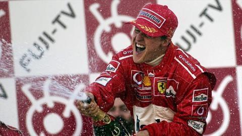Michael Schumacher es la figura más influyente en la historia de la Fórmula 1