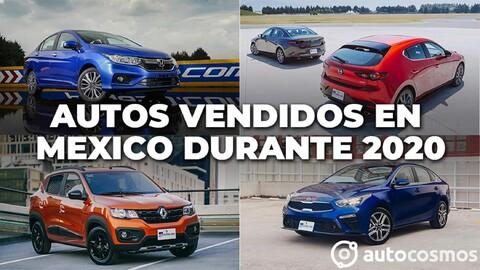 Los autos más vendidos en México durante 2020