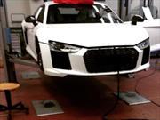 Esta sería la cara del nuevo Audi R8