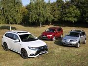 Mitsubishi Outlander celebra 15 años y 1.5 millones de unidades vendidas