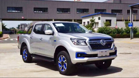 Nissan ya cuenta con una pick up eléctrica para el mercado chino