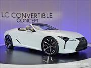 Lexus LC Convertible Concept: excelso deportivo japonés