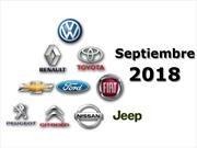 Top 10: las marcas más vendedoras de Argentina en septiembre de 2018