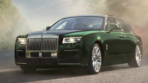 Rolls-Royce Ghost Extended 2021 se presenta