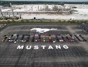 Desde 1964, Ford ha producido más de 500 Mustang por día