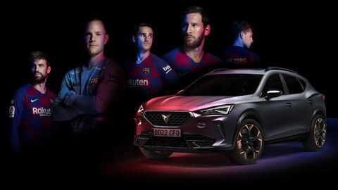 ¿Lo querrá Messi? Cupra Formentor es el nuevo auto del Barcelona