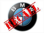 BMW hace recall para 210,000 vehículos