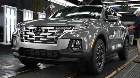Hyundai inicia la producción del Santa Cruz 2022 en Estados Unidos