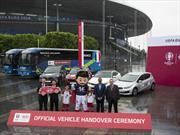 KIA entregó sus modelos para la Euro 2016