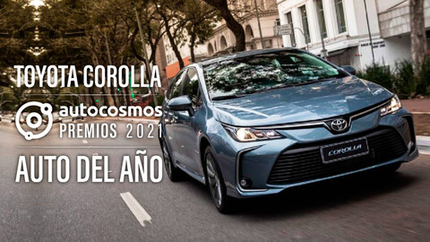 Premios Autocosmos 2021: el Toyota Corolla es el Auto del Año