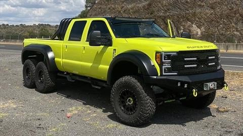 T-Rex 6×6, poderosa transformación de una Ford Super Duty