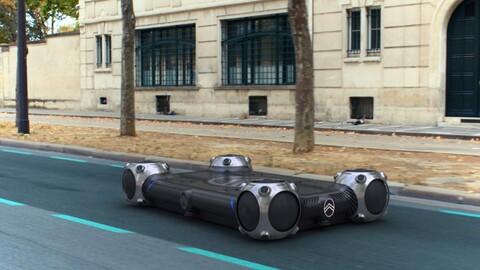 Citroën Skate, una visión diferente para servicios de movilidad urbana
