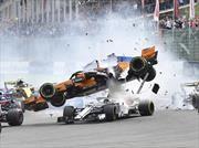 F1: el Halo pasó una prueba importante en Bélgica
