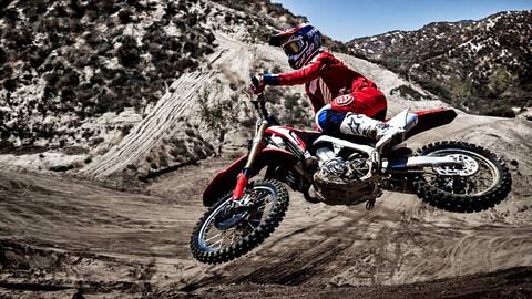 Honda también actualiza su gama de motos off-road