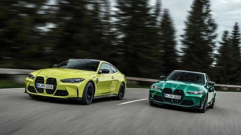 BMW M3 sedán y M4 coupé 2021, la nueva cara de la deportividad