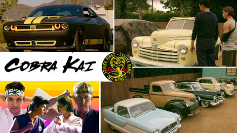 Autos que aparecen en Karate Kid y Cobra Kai