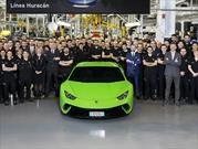 Festeja el Toro: Lamborghini llegó a las 10.000 unidades producidas del Huracan