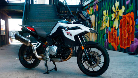 Manejamos la BMW F 750 GS