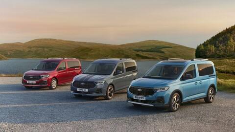 Ford Tourneo Connect 2022, así es la Volkswagen Caddy de la firma del óvalo azul