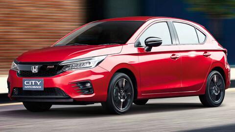Honda City hatchback 2021 se presenta en Tailandia