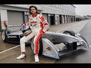 Cochito López probó un Fórmula E
