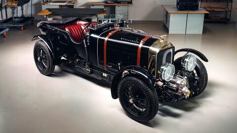 Bentley Blower Continuation, replica exacta al original que cumple 90 años