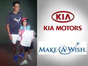 Kia Motors Argentina le cumplió el sueño a Valentín, conocer a Rafa Nadal